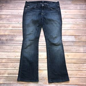 7 For All Mankind 'A' Pocket Distressed Jeans